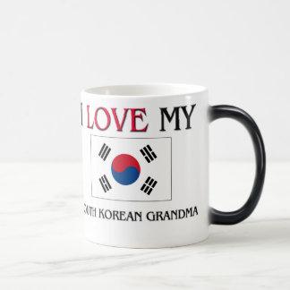 I Love My South Korean Grandma Magic Mug