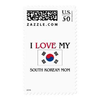 I Love My South Korean Mom Postage