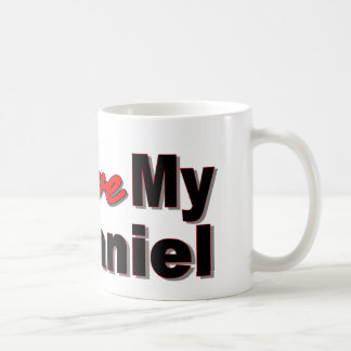 I Love My Spaniel Coffee Mug