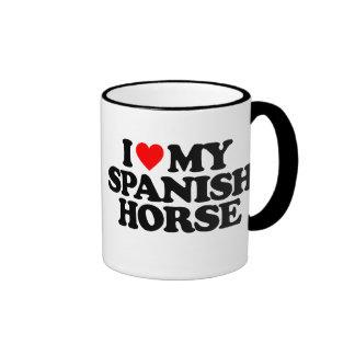 I LOVE MY SPANISH HORSE MUG