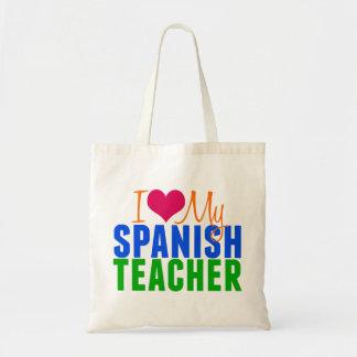 I Love My Spanish Teacher Tote Bag