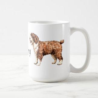 I Love my Spanish Water Dog Mug