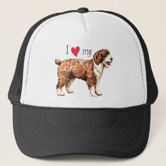 I Love my Spanish Water Dog Trucker Hat