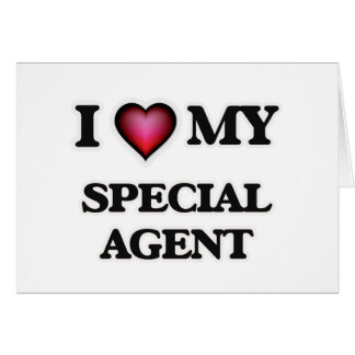 I love my Special Agent Card