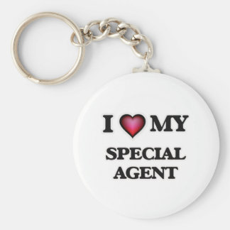 I love my Special Agent Keychain