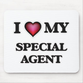 I love my Special Agent Mouse Pad