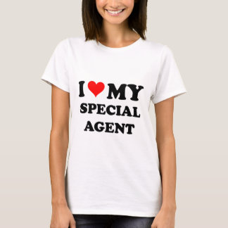 I Love My Special Agent T-Shirt
