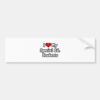 I Love My Special Ed. Students Bumper Sticker