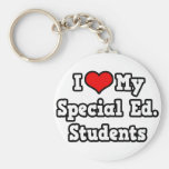 I Love My Special Ed. Students Keychain