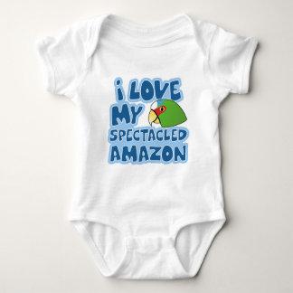 I Love my Spectacled Amazon Baby Creeper