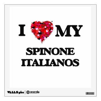 I love my Spinone Italiano Wall Graphics