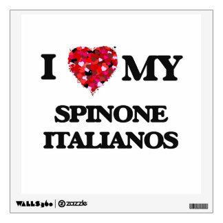I love my Spinone Italianos Wall Graphic