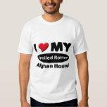 I love my spoiled rotten Afghan Hound Tee Shirt