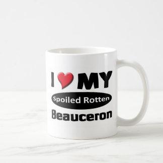 I love my Spoiled rotten Beauceron Coffee Mug