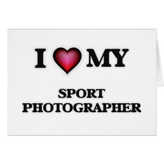 I love my Sport Photographer Card