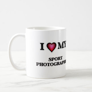 I love my Sport Photographer Coffee Mug