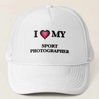 I love my Sport Photographer Trucker Hat