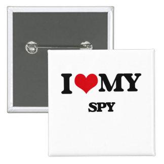 I love my Spy 2 Inch Square Button