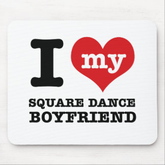 I love my square Boyfriend Mouse Pad