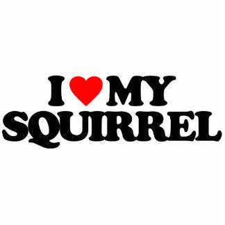 I LOVE MY SQUIRREL PHOTO CUTOUT