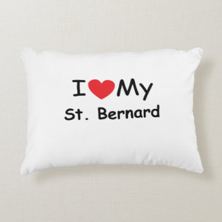I love my St Bernard Accent Pillow