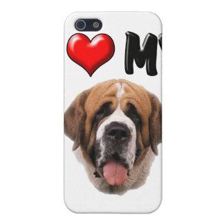 I Love My St Bernard Case For iPhone SE/5/5s