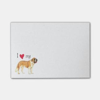 I Love my St. Bernard Post-it® Notes