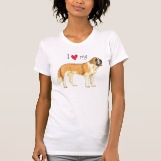 I Love my St. Bernard Tshirt