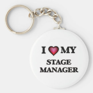 I love my Stage Manager Keychain