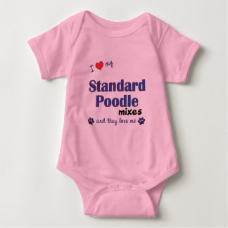 I Love My Standard Poodle Mixes (Multiple Dogs) Shirts