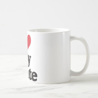 I Love My State Coffee Mug