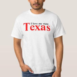 I love my state, Texas T-Shirt