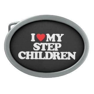 I LOVE MY STEP CHILDREN BELT BUCKLE