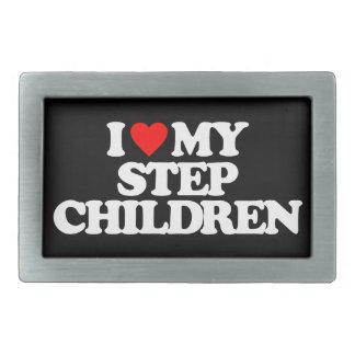 I LOVE MY STEP CHILDREN BELT BUCKLES