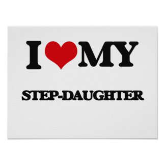 I love my Step-Daughter Poster