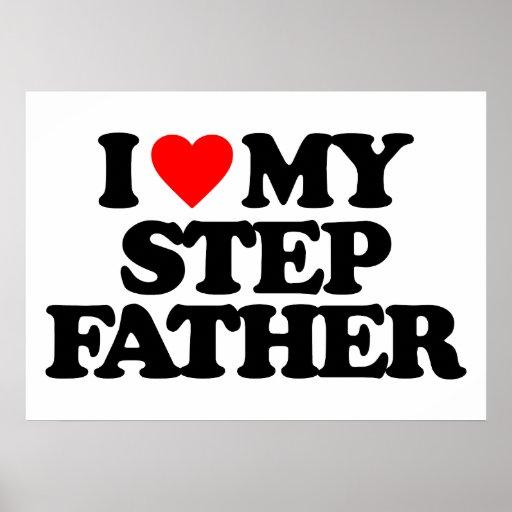 I LOVE MY STEP FATHER PRINT