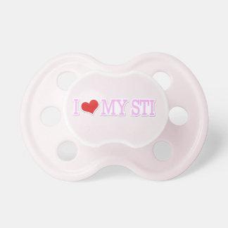 I Love My STI Baby Pacifier