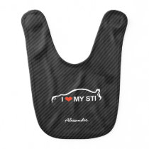 I Love MY STI Bib