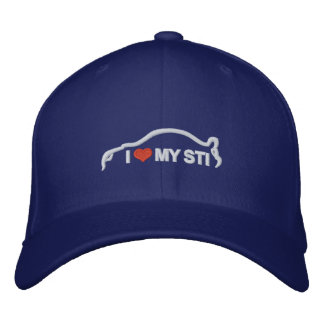 I Love My STI Baseball Cap