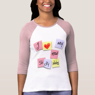 I LOVE MY STICKY NOTES T-Shirt