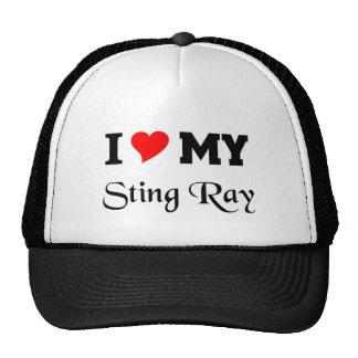 I love my Sting Ray Trucker Hat