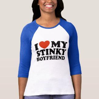I Love My Stinky Boyfriend T-Shirt