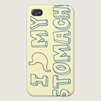 I Love My Stomach Cases For iPhone 4