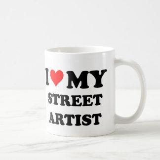 I Love My Street Artist Mugs