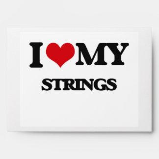 I Love My STRINGS Envelope