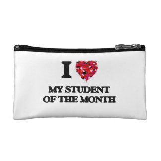 I love My Student Of The Month Makeup Bag