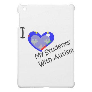 I love my students' with autism iPad mini cases