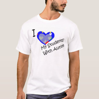 I Love My Student's With Autism shirt