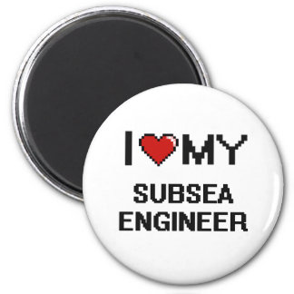 I love my Subsea Engineer 2 Inch Round Magnet