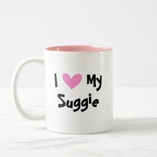 I Love My Sugar Glider Mugs